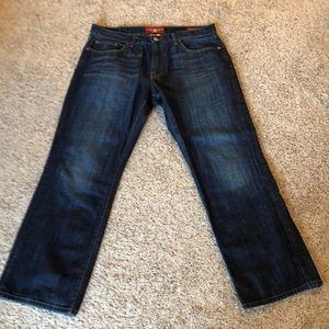 Lucky brand  221 original boot jeans. 36x30
